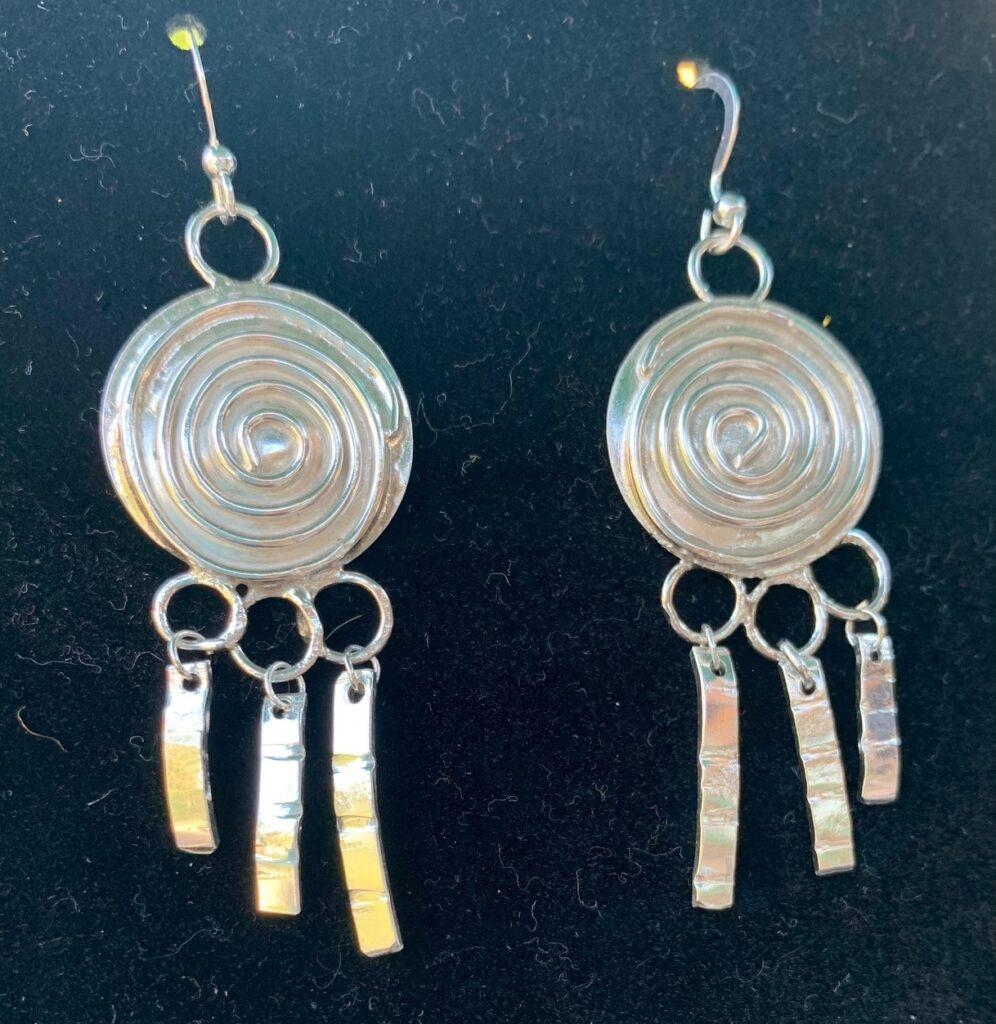 Lucy Valderhaug - Scan Shield earrings
